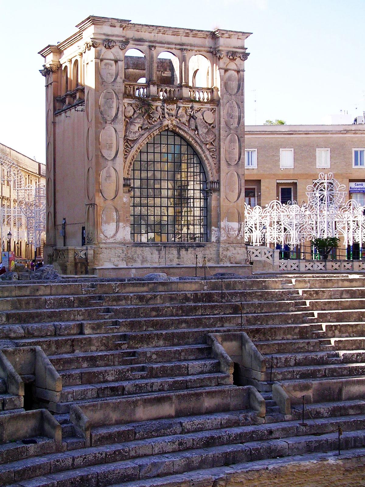 Architetti Famosi Lecce visita guidata di lecce - scuola d'italiano porta d'oriente