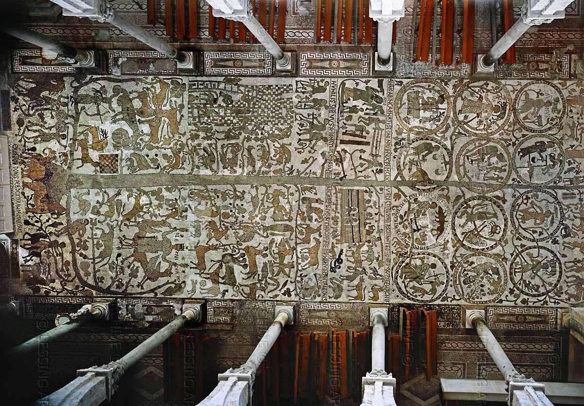 albero della vita mosaico otranto