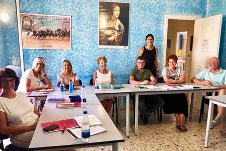 corso d'italiano per professori
